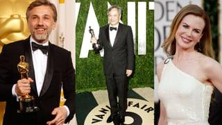 Christoph Waltz, Nicole Kidman und Ang Lee in Cannes-Jury
