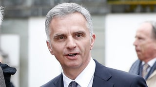 Burkhalter: «OSZE kann bescheidene, aber klare Rolle spielen»