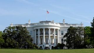 Wieder Panne beim Weissen Haus: Mann klettert über Zaun
