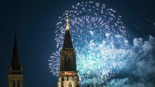 Kein Feuerwerk auf dem Gurten in Bern