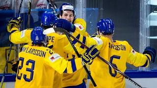 La Svezia è l'emprim finalist al campiunadi mundial