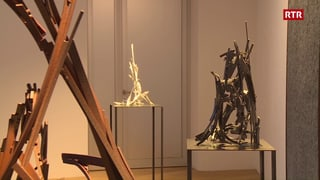 Linard Nicolay expona a San Murezzan