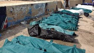 Schiffbruch vor Lampedusa: Mindestens 133 Tote