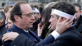 Hollande präsentiert sich als Landesvater und starker Präsident