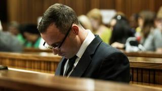 Pistorius wird in Psychiatrie eingewiesen
