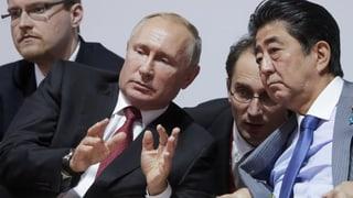 Putin wird nicht auf Territorium verzichten