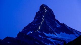 Das Matterhorn als Marke