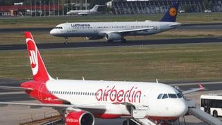 Lufthansa übernimmt grosse Teile von Air Berlin