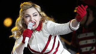 Madonna ist die bestbezahlte Sängerin der Welt