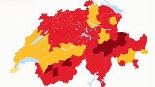 Hitzewarnung im Tessin und weitere Feuerverbote
