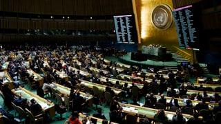 Jerusalem: Radunanza plenara da l'ONU cunter decisiun da Trump