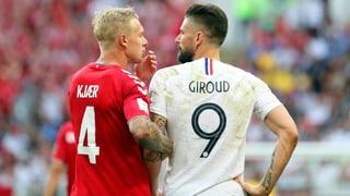 Dänemark löst neben Frankreich das Achtelfinal-Ticket