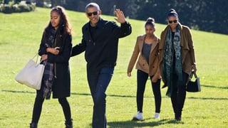 Michelle Obama: «Der Abschied vom Weissen Haus wird hart»