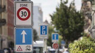 Tempo-30-Zone: Ein Zukunftsmodell?