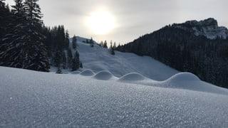 Immer wieder Schnee bis Ende Monat (Artikel enthält Video)