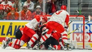 Russland zeigt der Hockey-Nati ihre Grenzen auf