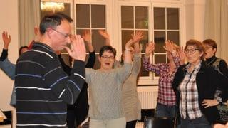 «BarattaChor»: Jürg Wasescha tar il Chor maschadà grischun Turitg