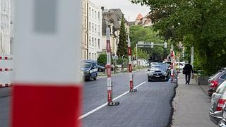 Für den E-Prix in Zürich wurden grossflächig Parkplätze gesperrt