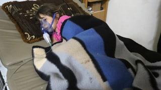 Giftgas-Berichte aus Syrien schockieren UNO-Sicherheitsrat