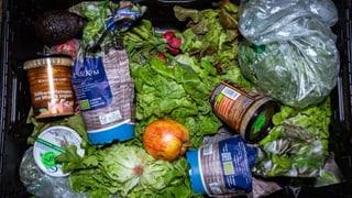 Schweizer Haushalte werfen eine Million Tonnen Lebensmittel weg