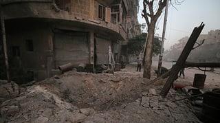 Nov plan d'agid per Aleppo