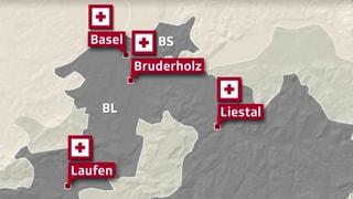Baselbieter Regierung soll Spitalfusion weiter planen