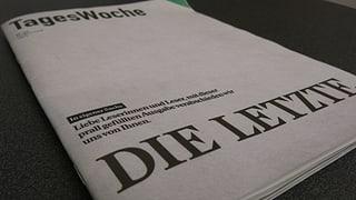 Stirbt mit der Tageswoche der stiftungsfinanzierte Journalismus?