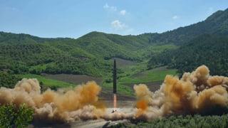 Nordkorea droht USA mit dem «Atomhammer»