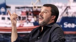 Italiens «Superpoliziotto» Salvini stählt sein Image