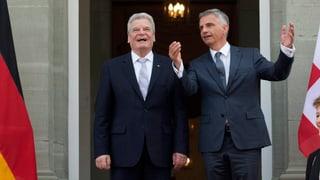 Gauck auf EU-Werbetour in der Schweiz