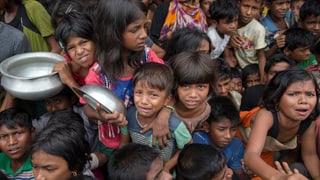 Die Vereinten Nationen sammeln Geld für die verfolgten muslimischen Rohingya aus Burma. Auf einer Geberkonferenz in Genf im Oktober wurde die Weltgemeinschaft um Hilfe gebeten..