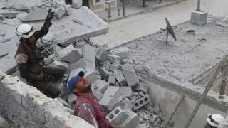 Auch in Aleppo schweigen die Waffen