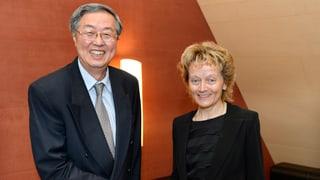 Chinesische Bank kommt in die Schweiz