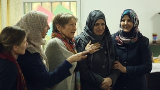 Video «Blumen zwischen Trümmern – Zwischen Gewalt und Hoffnung in Gaza» abspielen
