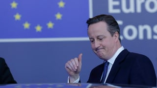 Cameron ha ditg adia a Brüssel