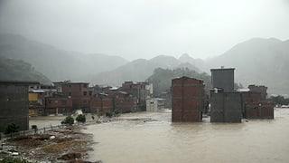 «Soudelor» bringt auch China Tod und Zerstörung