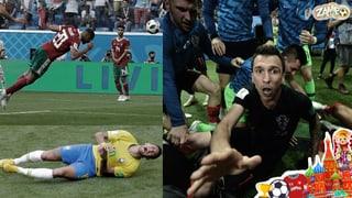 Pleiten, Pech und Pannen - Die lustigsten Momente der WM 2018