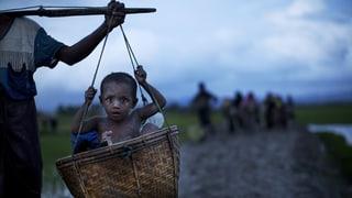 In Burma wartet verbrannte Erde