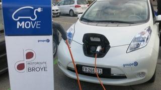 Freiburger Groupe E setzt auf Elektroautos