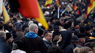Pegida demonstriert nach Zwangspause wieder