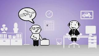 Darf mir der Chef vorschreiben im Flugzeug zu reisen? (Artikel enthält Video)