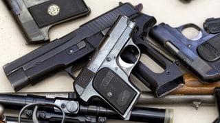Waffenlobby: Registrierung der Waffen birgt Gefahr