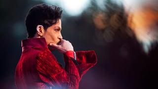 Auf der Bühne war Prince ein König