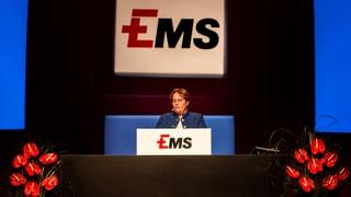 Gudogns, records e pasch tar la «EMS Chemie»