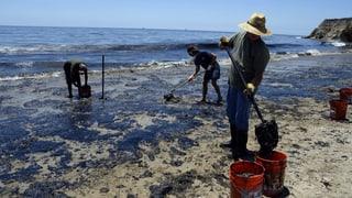 Ölpest an der kalifornischen Küste