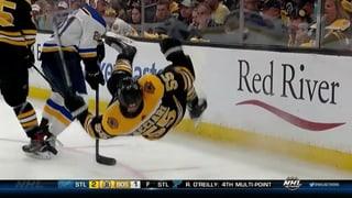 Bruins wutentbrannt: Strittige Szene vor dem 2:0