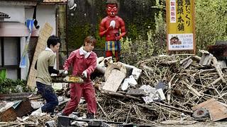 Zahlreiche Tote nach Unwetter in Japan