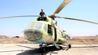 Russische Kampfsoldaten auf syrischem Boden?