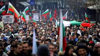 Bulgaren protestieren gegen Stromanbieter