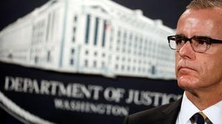 FBI-Vizechef tritt zurück